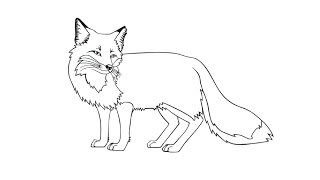 How to Draw a Fox / Как нарисовать лису(Drawing Channel - https://www.youtube.com/channel/UCaZm6IvtL9zNeDwQi571asA/videos Канал для рисования ..., 2015-04-24T08:29:28.000Z)