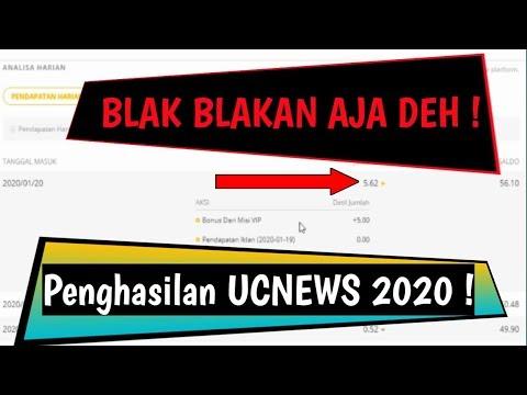 Blak Blakan! Riview Pendapatan 4 Akun UC News Terbaru