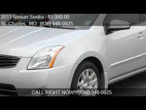 2011 Nissan Sentra S For Sale In St. Charles, MO 63301 At Au