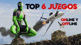 TOP 6 Mejores JUEGOS ¡Sin INTERNET y ONLINE! 2019 | Juegos ANDROID & iOS para TELÉFONOS CELULARES