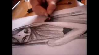 Drawing Arabic Girl