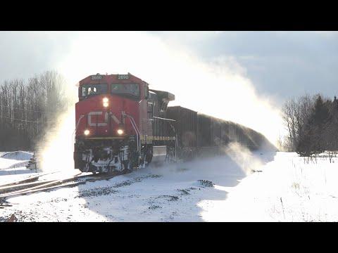 CN's All-Rail Iron Ore Trains 2 | CN Serves the North