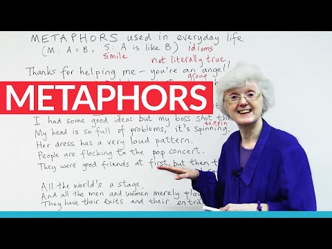 Using metaphors to speak English more fluently