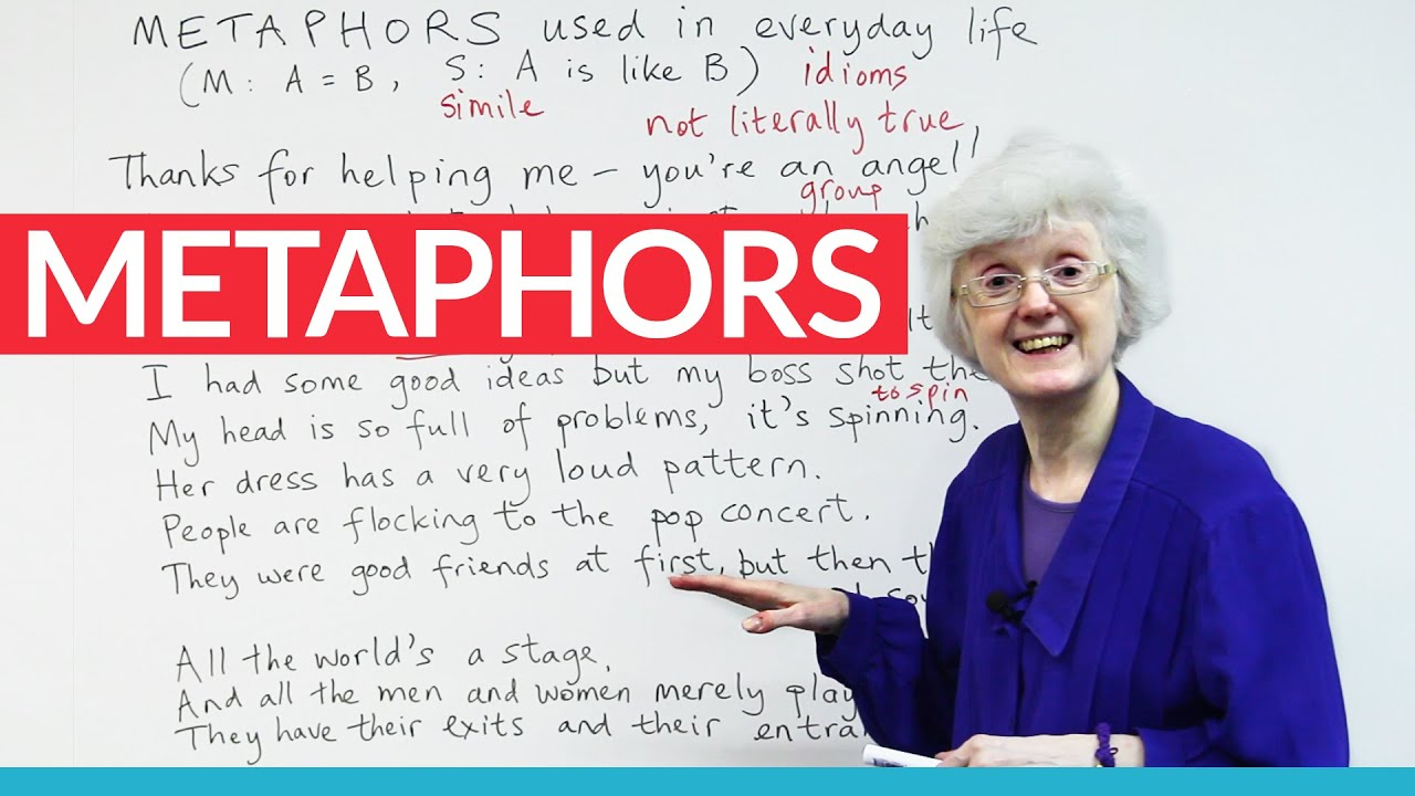 Using Metaphors To Speak English More Fluently Youtube