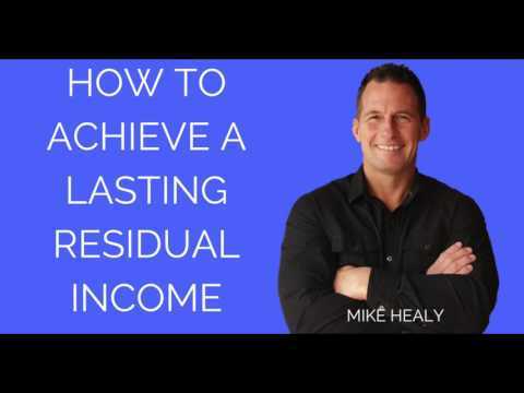 How to Achieve a Lasting Residual Income in the Deregulated Energy Industry