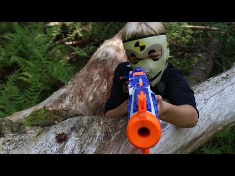 Nerf War: Capture the Bag