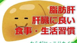 倉敷市脂肪肝   肝臓に良い食事・生活習慣!「からだにっこりカイロ」