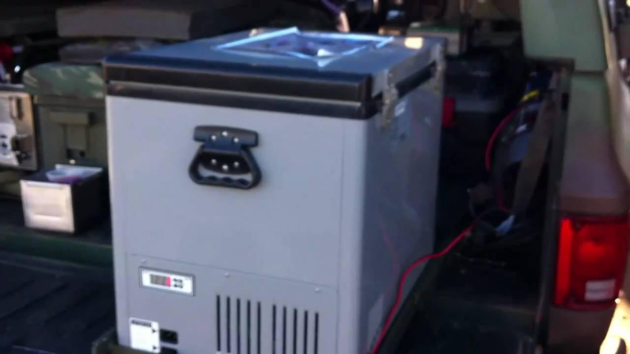 portable refrigerator set up youtube. Black Bedroom Furniture Sets. Home Design Ideas