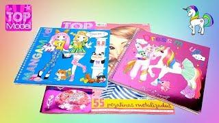 Revistas Infantiles TopModel, Dress Me Up y MangaModel