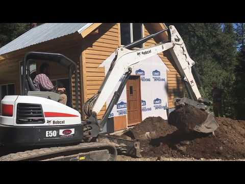 Download Youtube: Mountain Dream Home #38: Dirt Work with a Mini Excavator