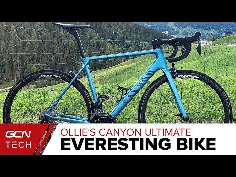 Ollie's Everesting Challenge Bike | Canyon Ultimate CF SLX