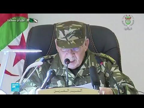 الجزائر: الطلبة يتظاهرون وقايد صالح معجب ب-الهبة الشعبية- تجاه الانتخابات الرئاسية  - 12:00-2019 / 11 / 20