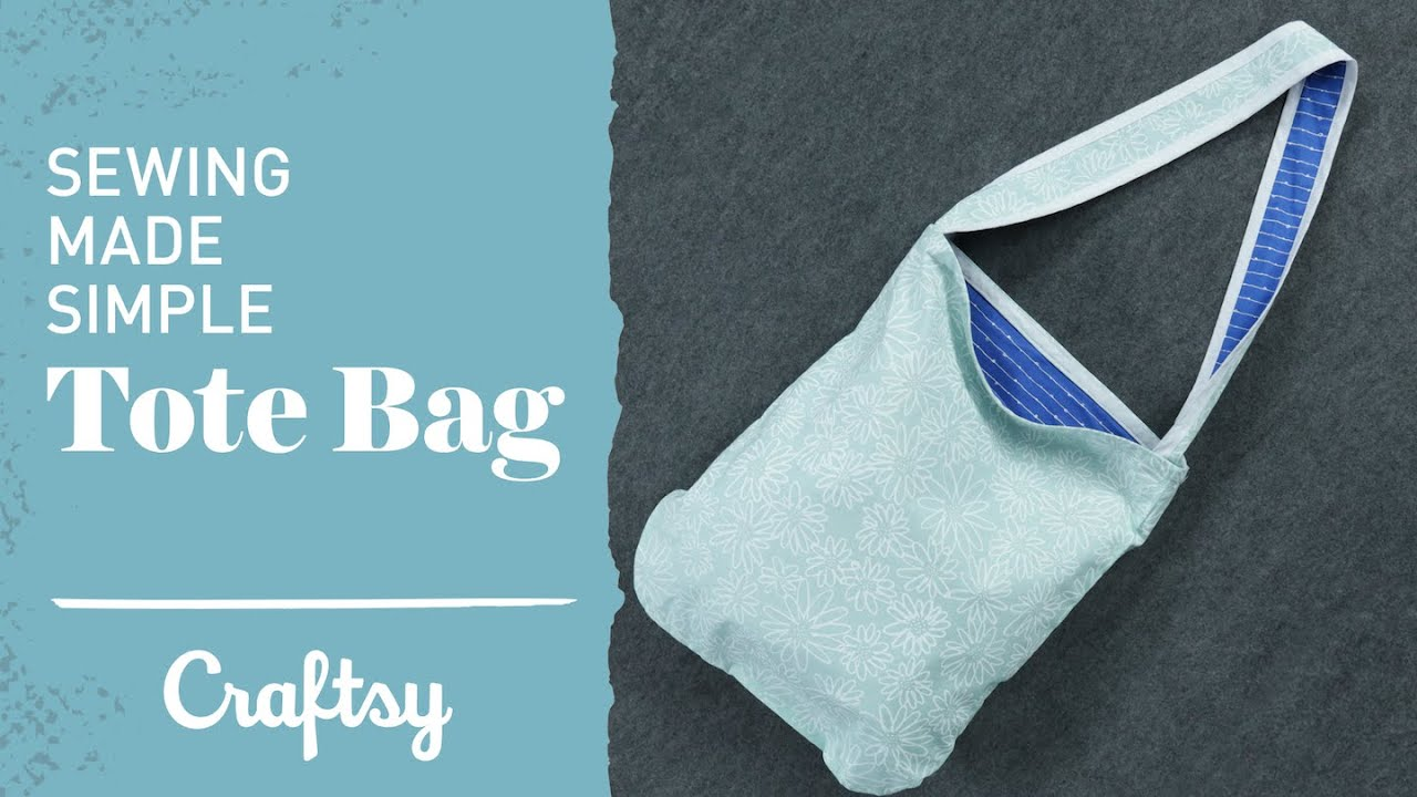 Easy Sewing Projects Quick Cute Tote Bag