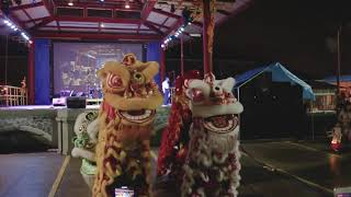 Marrero Lion Dance Team performance Autumn Fest 2018