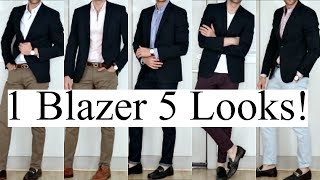 Ways To Style One Blazer For Different Occasions!