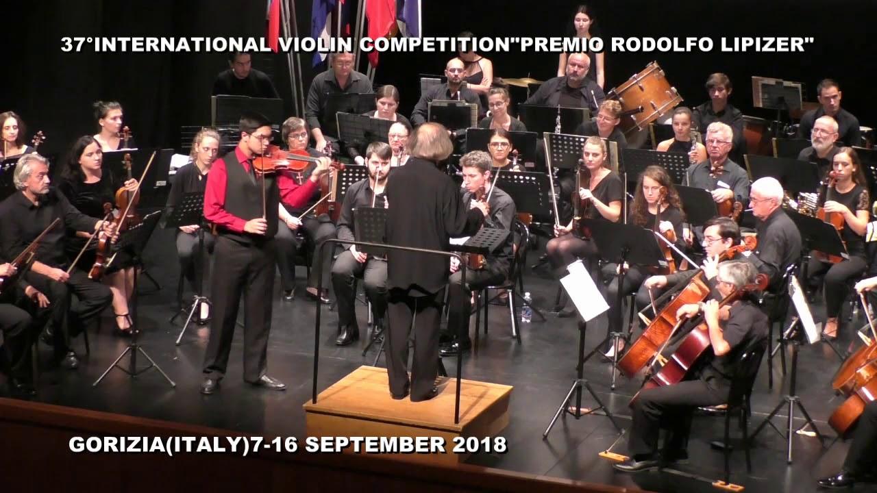 Prizes Awarded at Italy's 2018 Lipizer International Violin