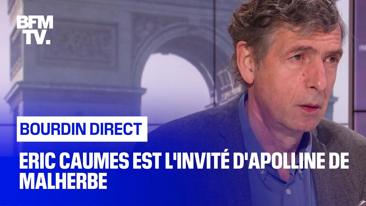 Eric Caumes face à Apolline de Malherbe en direct