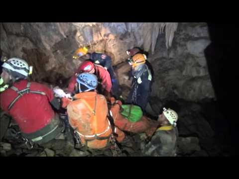 Cave Rescue Exercise, CRT 2015, Santraceva jama, BIH
