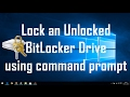 How to enable bitlocker drive encryption or simply bit locker with or via cmd