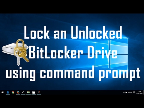 How To Forget Bit locker password and Recover or change In