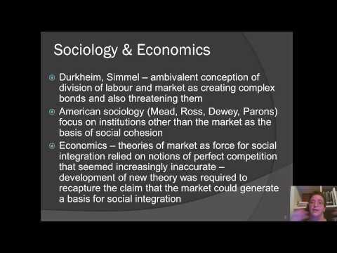 Week 3 Albert Hirschman Rival Interpretations of Market Society