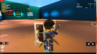 NDG's ROBLOX veido on1v1 a noob...
