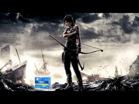 Lara Croft doesn't get her period? DFF plays TERRIBLE period games!
