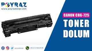 Canon CRG-725-LBP-6000-LBP-6020B-LBP-6000B-MF-3010-LBP-6020 TONER DOLUM(, 2013-02-06T11:36:28.000Z)
