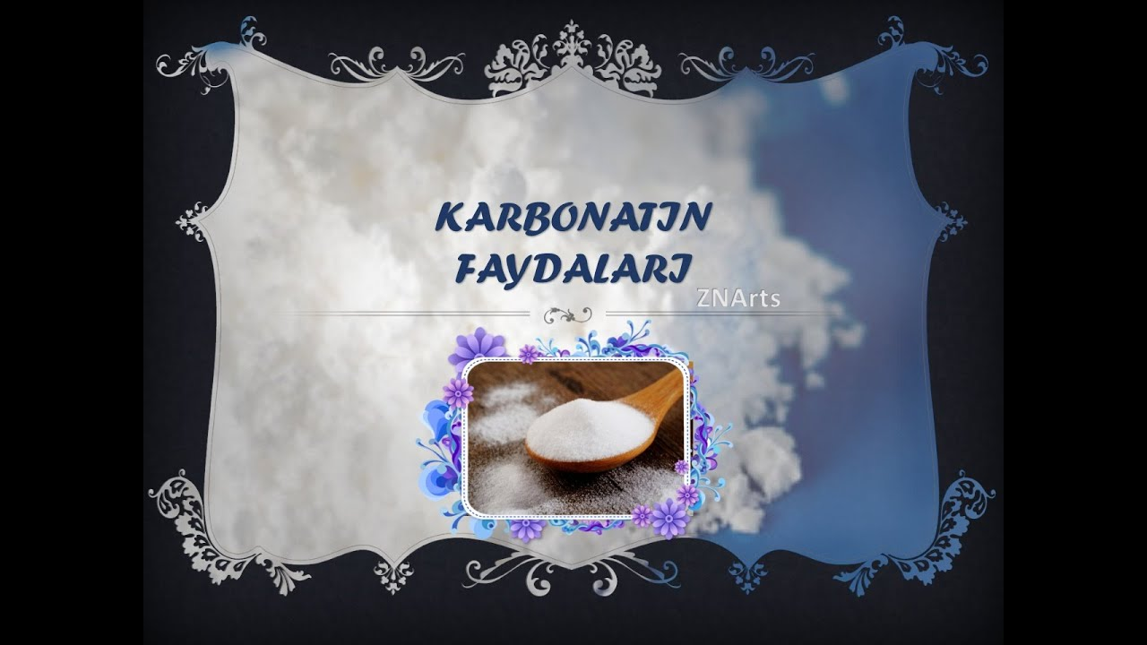 Karbonatın faydaları