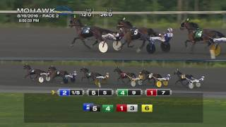 Mohawk, Sbred, Aug. 19, 2016 Race 2