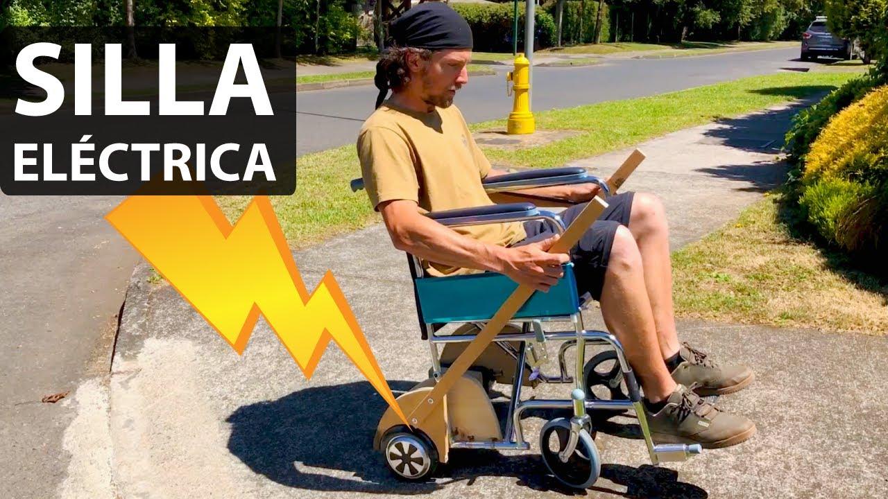 Prototipo de la Silla de Ruedas Eléctrica más Económica del Mundo!