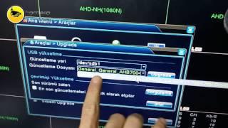 Kamera Kayıt Yazılımını Türkçe'ye yükseltme