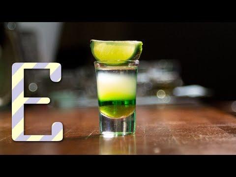 Зелёный мексиканец — рецепт коктейля Едим ТВ