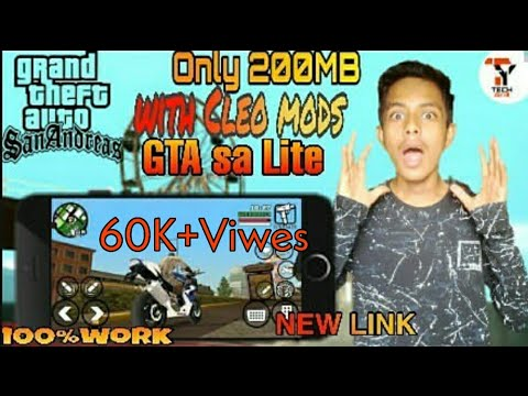Gta Sa Lite 200 Mb All Gpu Cleo Mod  Gta San Andreas Lite Cleo Mod New Link Tech Yar