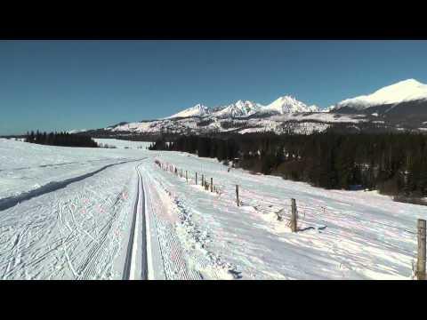 Mengusovce - bežkársky raj / cross country skiing paradise in Slovakia