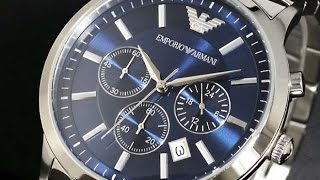 emporio armani watches 3 cool blue dial armani mens watches