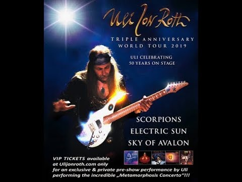 Uli Jon Roth (Scorpions) 50th Stage Anniversary North American Tour!