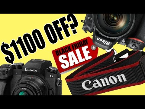 Black Friday 2016 Top 10 Best DSLR and Mirrorless Camera Deals