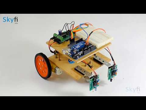 Line Follower Robot - Online Course for School Students