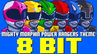 Mighty Morphin' Power Rangers Theme [8 Bit Tribute to Power Rangers] - 8 Bit Universe