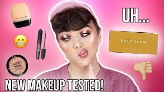 connectYoutube - TESTING NEW & OVERHYPED MAKEUP! ABH Soft Glam, Marc Jacobs & more! | Thomas Halbert