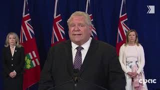 Premier Doug Ford says 5 more LTC homes being taken over; independent commission starts in July