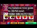 ****$150M WON!**** WITH VIDEO POKER ACES FACES in 1 minute!