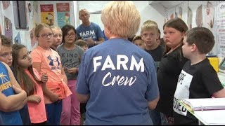 Mobile science lab brings the farm to schools