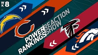 Power Rankings Week 8 Reaction Show: Who is the Best Team in the AFC? | NFL Network