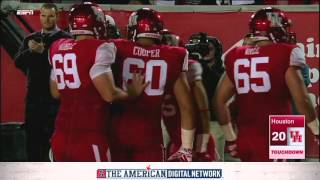 Football Highlights Houston 35, Memphis 34