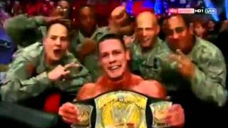 John Cena Machine Gun Kelly Invincible feat Ester Dean Official Theme Song of Wrestlemania XXVIII