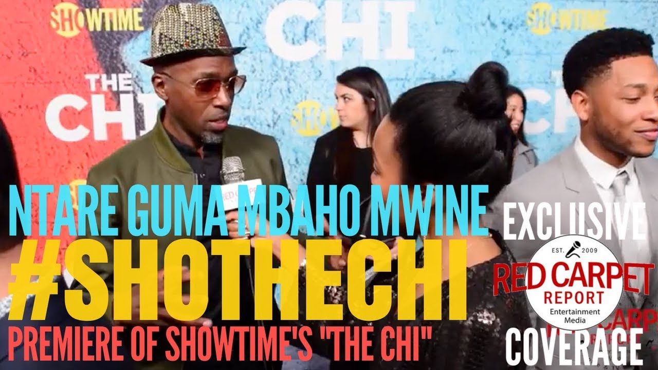 Ntare Guma Mbaho Mwine interviewed at premiere of Showtimes\'s new ...