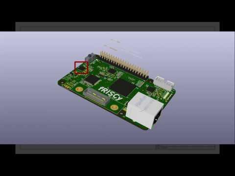 fRISCy: FPGA + RISC-V Development PCB designed in KiCad