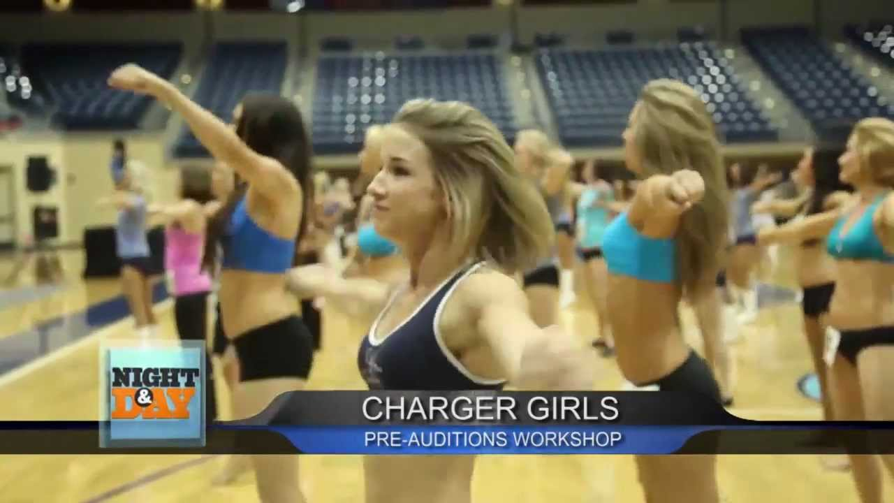 do you have what it takes to be a charger u0027s cheerleader youtube